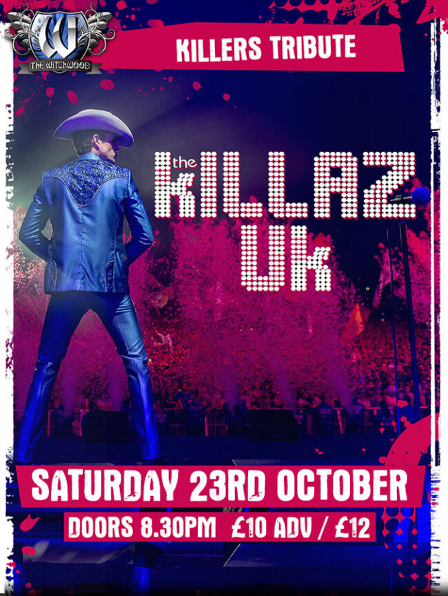 The Killaz UK - Saturday 23rd October 2021 live at the witchwood