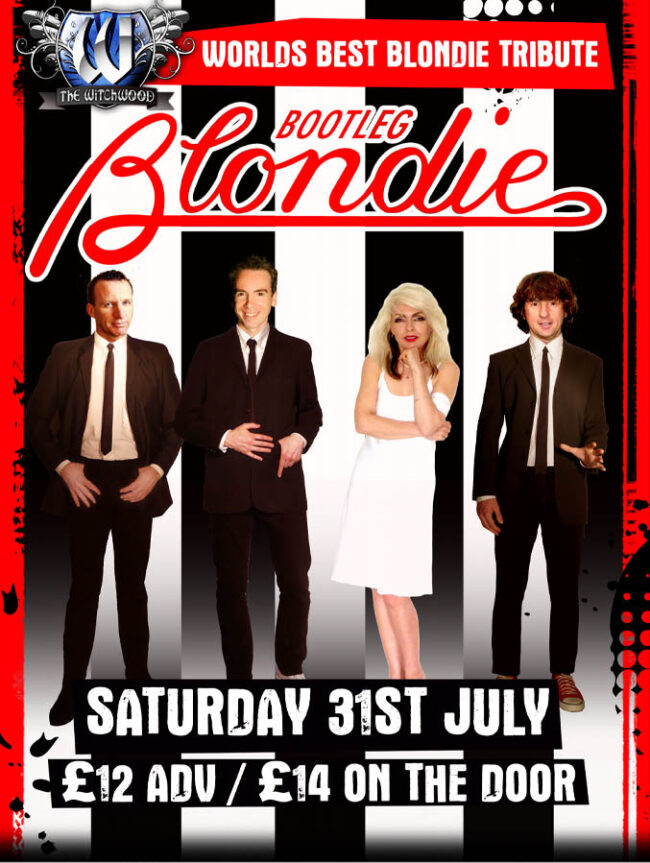 Bootleg Blondie - Saturday 31st July 2021 live at the witchwood