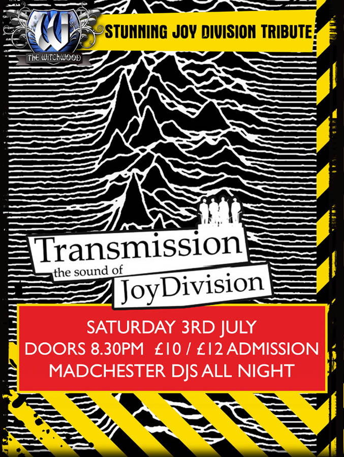 Transmission - Saturday 3rd July 2021 live at the witchwood