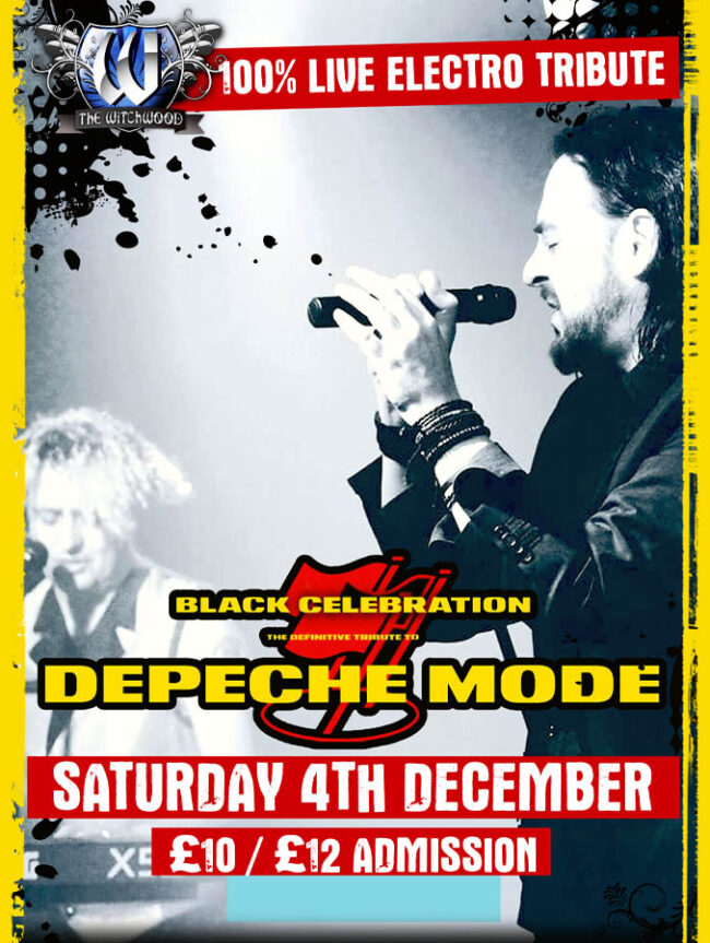 Black Celebration - Saturday 4th December 2021 witchwood