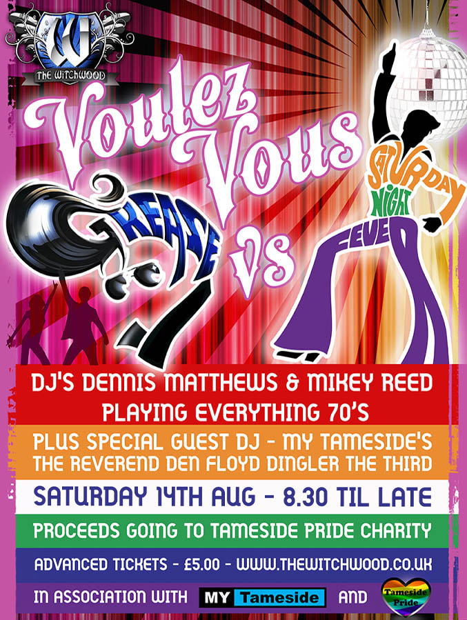 70s club night witchwood august 2021