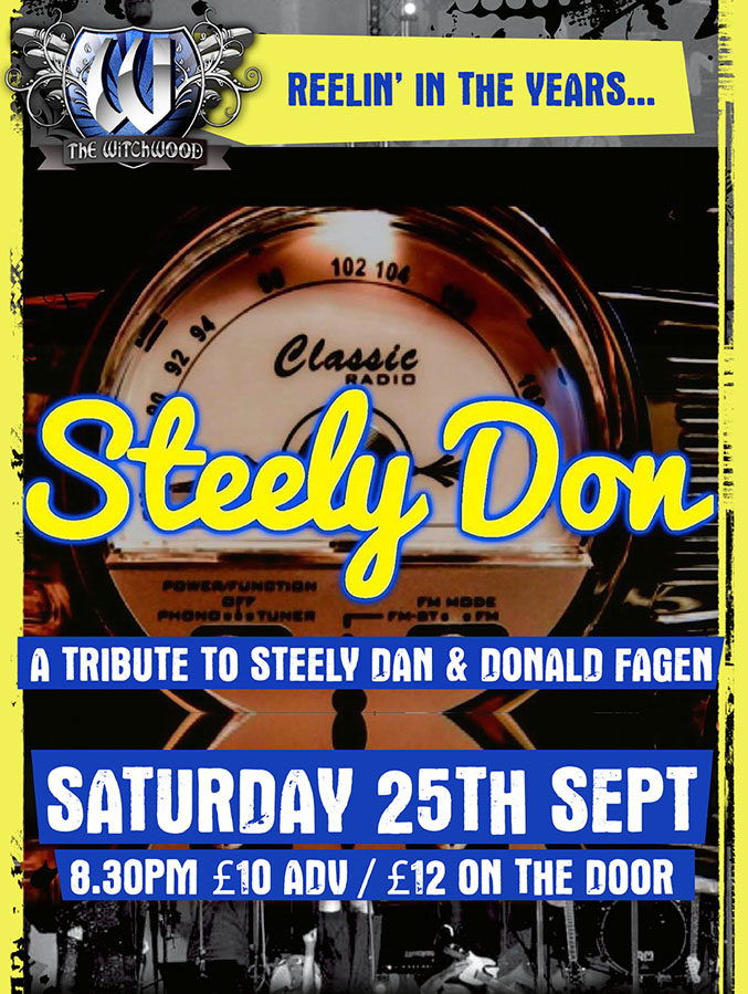Steely Don - Saturday 25th September 2021