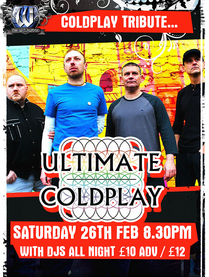 Coldplay tribute - feb 2022 live at the witchwood