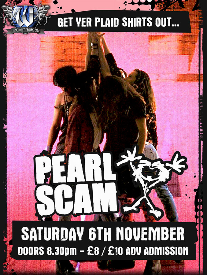 pearl jam tribute november 2021 at the witchwood