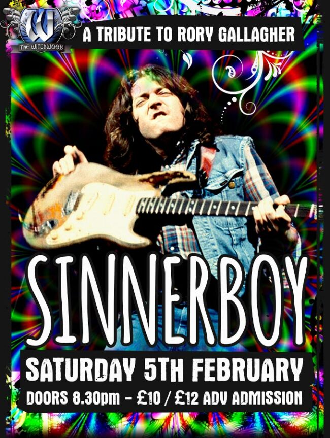 Rory Gallagher Tribute - Saturday 5th February 2022 Witchwood